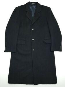 Stratojac Vintage Wool Coat - Black - 40R