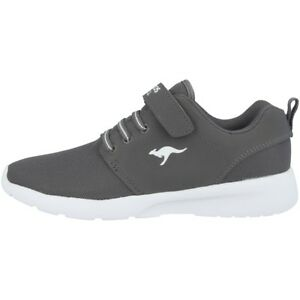 Kangaroos-HINU-EV-Trainers-Children-039-s-leisure-Shoes-Sneakers-Grey-18099-2005