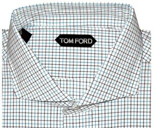 640-NEW-TOM-FORD-AQUA-CHCK-WIDE-SPREAD-COLLAR-HAND-MADE-DRESS-SHIRT-EU-45-17-75