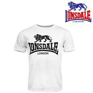 LONSDALE-CAMISETA-Slim-Blanca-Talla-Espana-XXL-T-Shirt-size-UK-XL-Maglietta