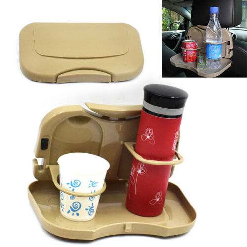 Latest Foldable Car Back Seat Multifunction Drink Cup Holder Mount Stand Storage