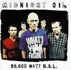 20 000 Watts RSL - Best of (18 Tracks) Midnight Oil Very Good IMPORT