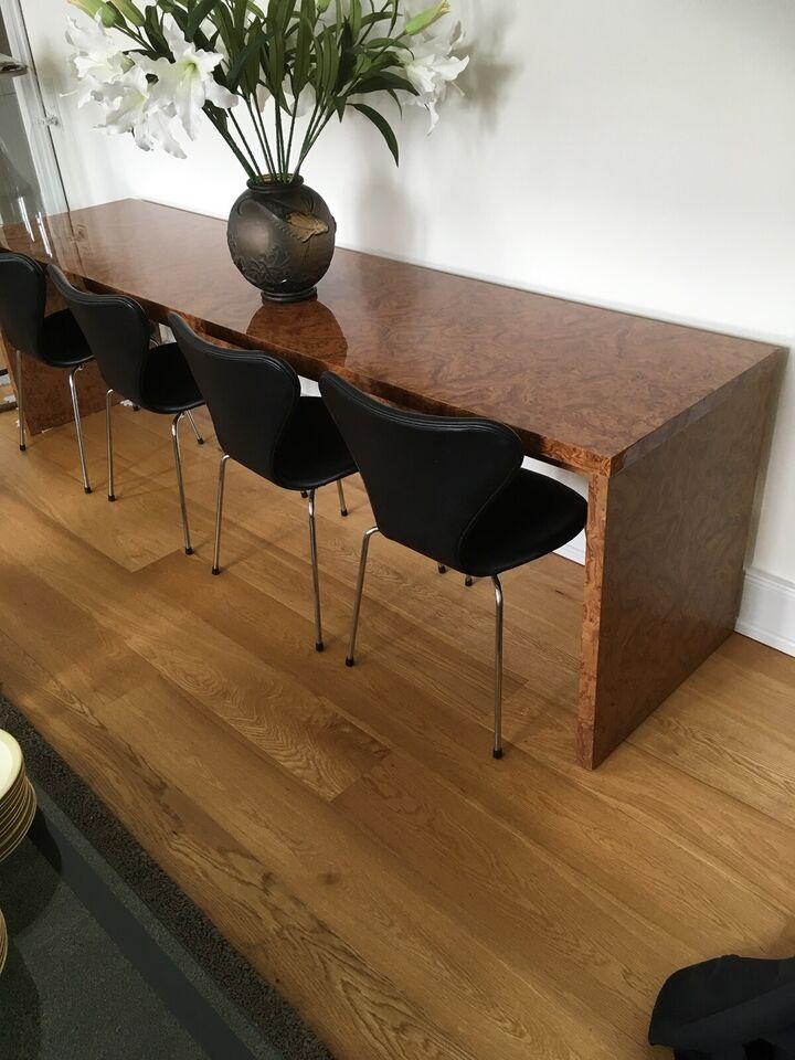 Anden arkitekt, Art Deco, Langbord /skrank