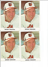 "Baltimore Orioles Brooks Robinson Photo 5.25"" X 3.5"" Nice"