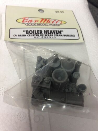 Bar Mills 2010 Boiler Cluster HO Scale 171-2010   MODELRRSUPPLY  $5 Coupon Offer