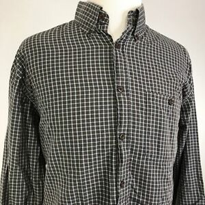 ORVIS-LONG-SLEEVE-CHECK-PLAID-BUTTON-DOWN-SHIRT-MENS-SIZE-XL