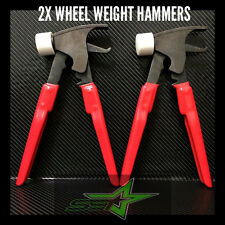 2 FORGED WHEEL WEIGHT HAMMER / PLIERS COMBO 4 TIRE BALANCER / CHANGER USA GRADE