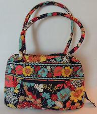 Vera Bradley Happy Snails Purse Handbag Tote Satchel Retired Pattern Quilt Bag