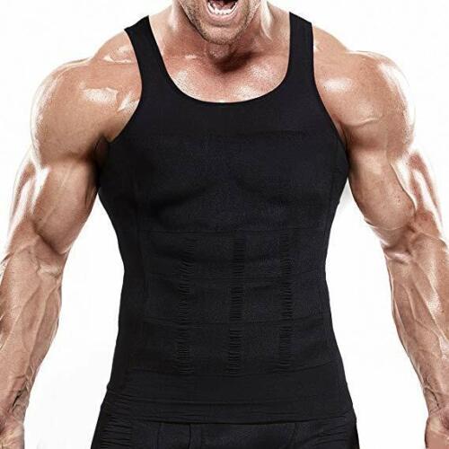 Ultra Lift Body Slimming Shaper For Men Chest Compression Body Shaper Vest Top