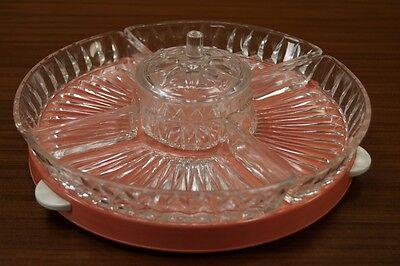 Antiques Just 1950s Bowl Anbiet Shell Rockabilly Design Vintage Serving Plate 50s Glass Sale Price