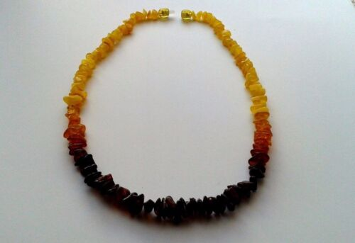 Details about  /#ELEGANT FEMALE NECKLACE FROM NATURAL BALTIC AMBER 17,90 inches