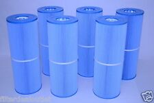 6 PAK SPA FILTERS FIT:C-4326 UNICEL C-4326RA PRB25-IN,FC-2375 ANTIMICROBIAL VITA