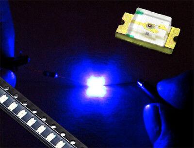 120 mcd ultraviolett Schwarzlicht 20 Stück SMD LED 1206 UV 390nm 3,3 V