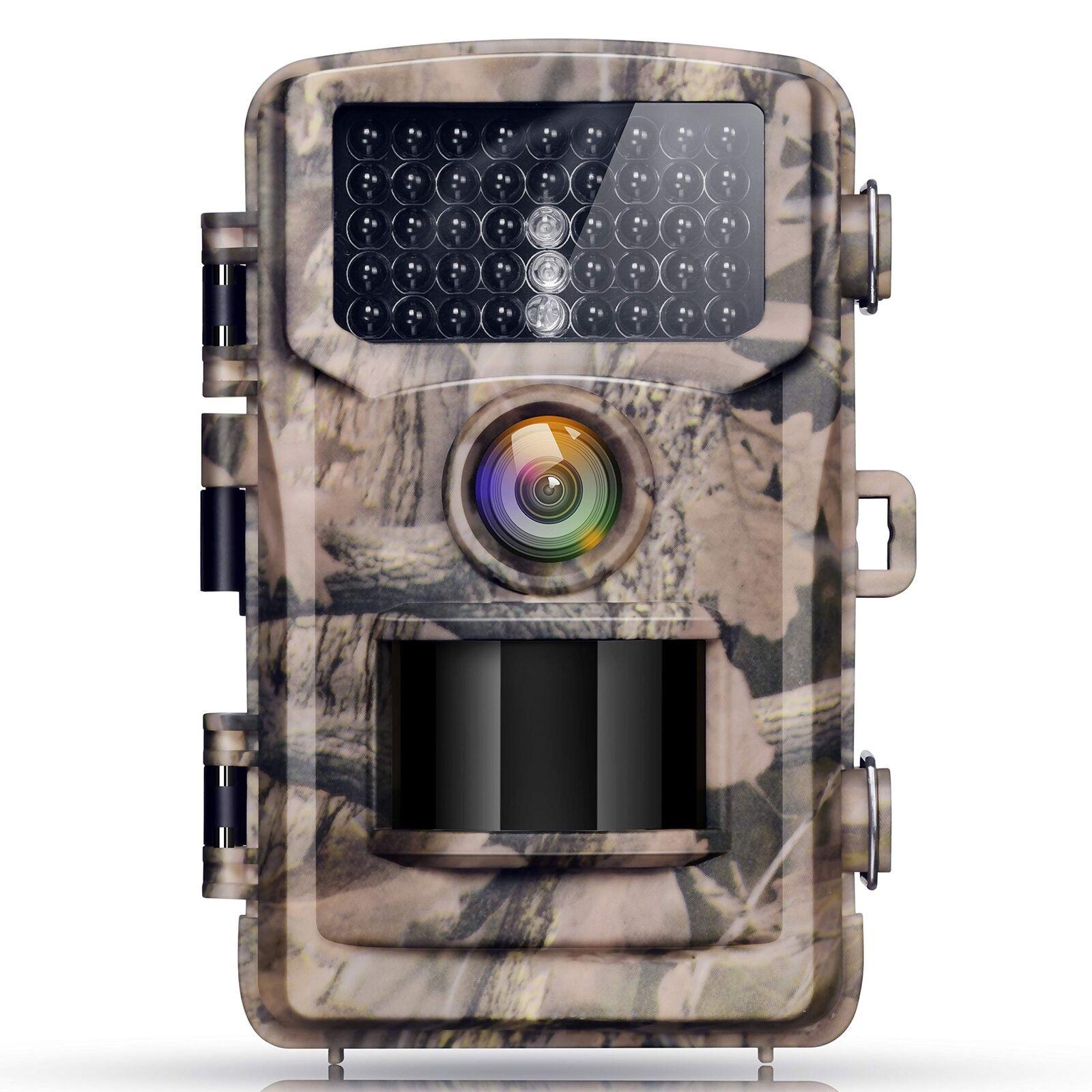 Campark Trail Game Camera 12MP 1080P Waterproof Wildlife Hunting Deer Scouting