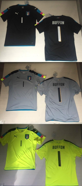 FW16 ITALIA PUMA EURO EURO EURO 2016 MAGLIA PORTIERE BUFFON 1 GOALKEEPER GK SHIRT JERSEY 95e8d1
