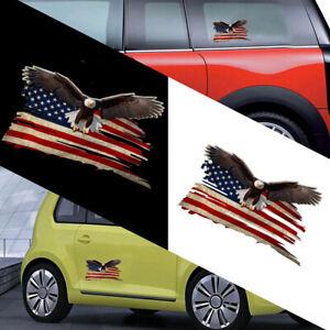 1x-Bald-Eagle-USA-American-Flag-Sticker-Car-Truck-Window-Decal-Decor-Accessories