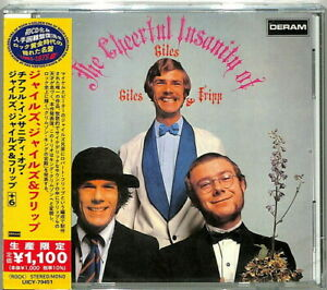 Giles Giles & Fripp - The Cheerful Insanity Of Giles. Giles & Fripp (Japanese Re