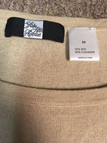Nude sassofono M in sassofono di seta Beige Top fodth con Fifth Avenue Sax PZwBqCxpn