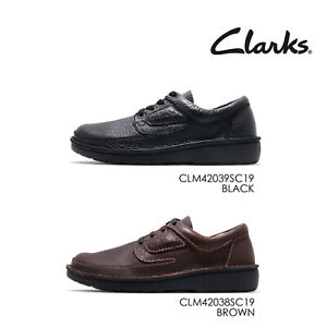Clarks ORIGINALS Mens Derby Lace-Up Brown