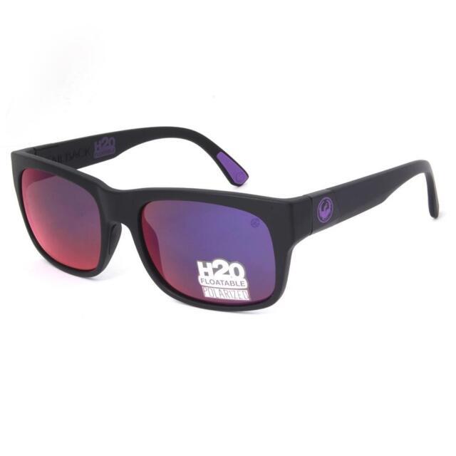 4874aa2a45 Dragon POLARIZED TAILBACK H2O Sunglasses - Matte Black Plasma Ion 29390-038