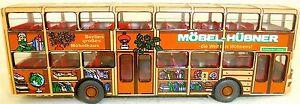 Moebel-Huebner-PoP-Werbebus-MAN-SD-200-gesupert-aus-WIKING-Bus-H0-1-87-BF18-a