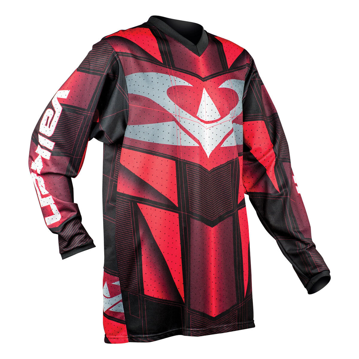 Valken Fate EXO Paintball Jersey - Red - Large
