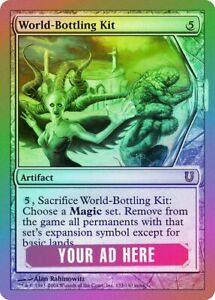 Worldslayer Mirrodin HEAVILY PLD Artifact Rare MAGIC THE GATHERING CARD ABUGames