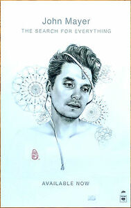 JOHN MAYER The Search For Everything 2017 Ltd Ed RARE ...