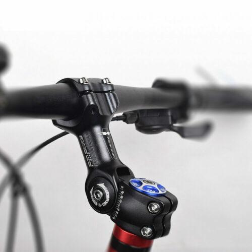 25.4//31.8mm Mountain Road Bike Stem Riser Adjustable MTB Bicycle Handlebar NEW