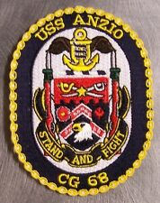 Embroidered Military Patch U S Navy ship Cruiser USS Anzio CG-68 NEW