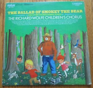The Ballad Of Smokey The Bear Record Album & Other Favorite Animal Songs
