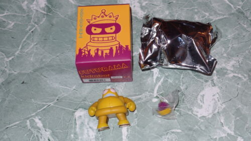 "Kidrobot Futurama Series 2 Hedonism Bot 3/"" Vinyl Figure Art Grapes Chase ?//??"