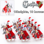 8pcs-Knights-Gladiatus-Military-Army-Soldier-Captain-Minifig-Castle-Minifigures thumbnail 33