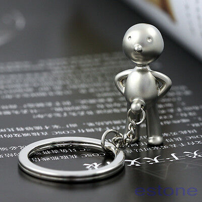 3D Creative Cute Gift Mr.P Boy Funny Metal Key Chain Keychain Key ring Fob Ring