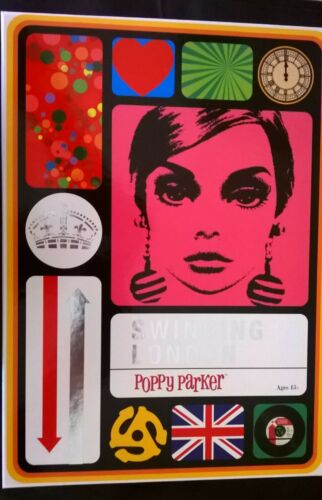 Integrity Toys Poppy Parker Swinging London Giftset Empty Box with Shipper