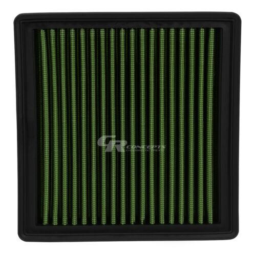 GREEN WASHABLE AIR FILTER FOR 96-00 HONDA CIVIC 97-01 1.6 CRV 2.0 96-97 DEL DOL