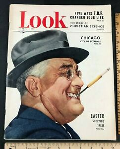 Original-1949-Look-Magazine-FDR-Cover-Smoking-History-of-Christian-Science