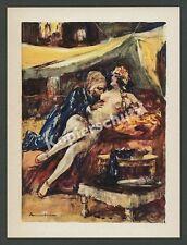 Lutz Ehrenberger Frau Sklavin Harem Akt nackt Erotik Orient Bagdad Persien 1925