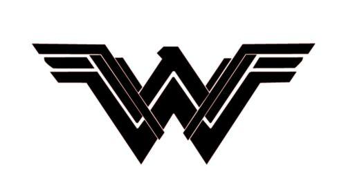 2x1 Wonder Woman 2017 Vinyl Decal Sticker Detective Comics Logo Ordinateur Portable Mur Voiture Beaucoup Couleurs