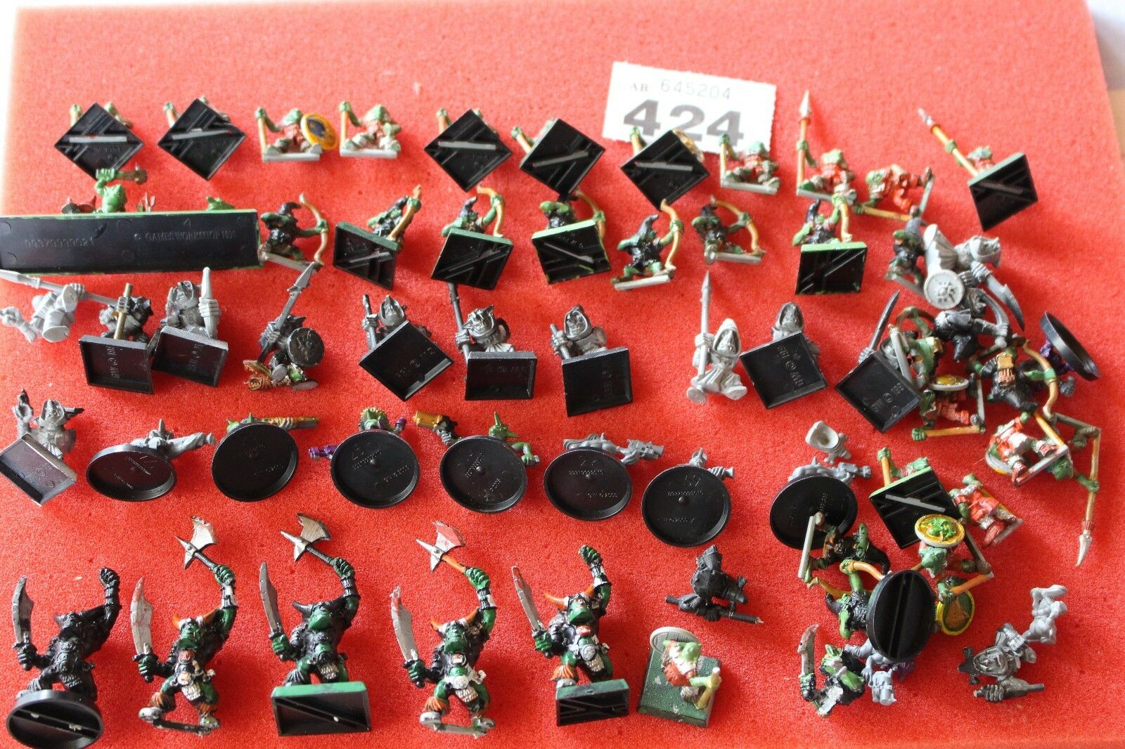 Warhammer Orcs and Goblins Job Lot Classic Figures Army Games Workshop Spares