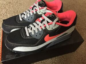 online store d356d 06ad6 Image is loading Nike-Air-Max-90-Infrared-ONE-OF-A-