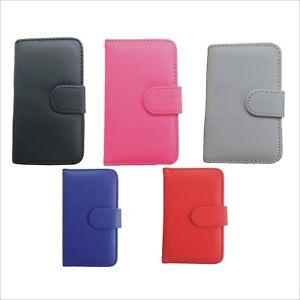 iPhone-5-5S-Leder-Handytasche-Schutz-Huelle-Flip-Case-Etui-Bumper-Tasche