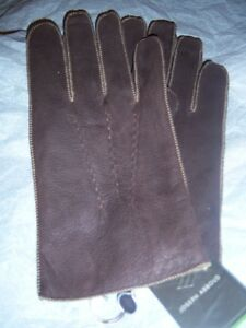 9e4318150404b Image is loading Joseph-Abboud-Rabbit-Fur-lined-Leather-gloves-XL-
