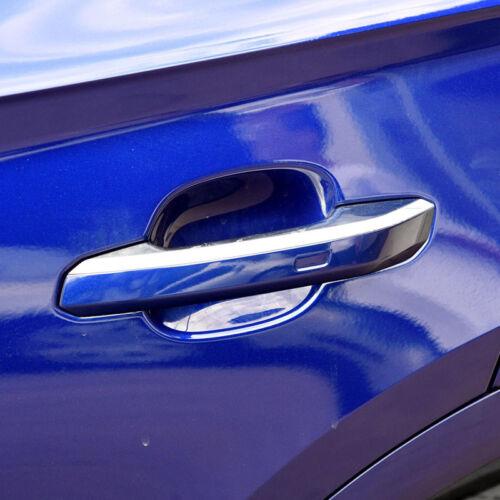 For Audi Q5 2018 2019 Chrome Exterior Door Handle Decoration Strip Cover 4pcs