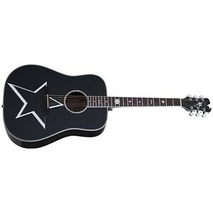 Schecter 283 Robert Smith RS-1000 Busker Acoustic Guitar, Solid Spruce Top