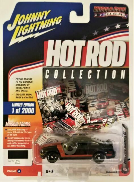 JOHNNY LIGHTNING Muscle Cars USA Release 4 2005 Ford Mustang GT Versions A /& B