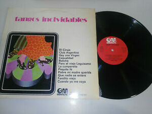 """Jorge Vidal Tangos Unvergessliche 1971 - Spanisch Edition LP 12 """" vinyl VG/VG"""