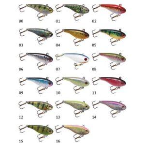 LINDY DARTER 1//2oz REDTAIL /& TULLIBEE COMBO OPEN//ICE FISHING