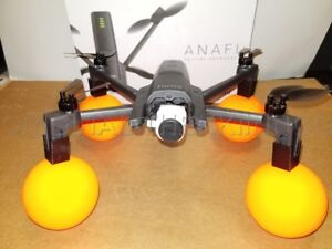 Details about Parrot Anafi WATER MOD protector Neon EDITION DRONE Orange  color float ANAFI
