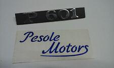"""TARGHETTA LATERALE """" P 601 """" PER PIAGGIO APE MP 601"""